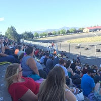 Photo taken at Stateline Speedway by Scott K. on 7/4/2016