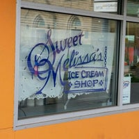 Photo taken at Sweet Melissa's Ice Cream Shop by Will D. on 7/21/2016
