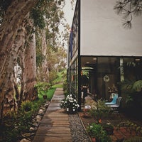 Photo taken at The Eames House (Case Study House #8) by Steph B. on 3/16/2013