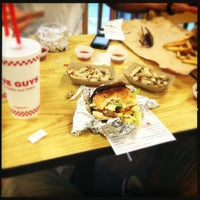 Photo taken at Five Guys by Sultan B. on 10/5/2012