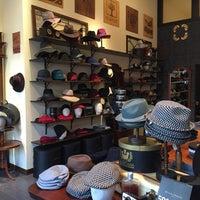 Photo taken at Goorin Bros. Hat Shop - Larimer Square by Leigh B. on 11/28/2015