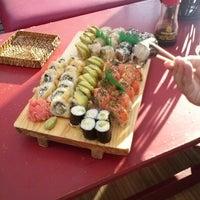 Photo taken at Yoko Sushi by Mauricio I. on 2/17/2013