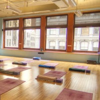 Photo taken at YogaWorks Union Square by YogaWorks on 6/3/2014