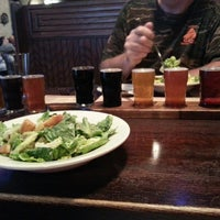 Photo taken at Half Moon Restaurant & Brewery by Tina W. on 5/30/2013