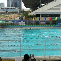 Photo taken at Abellana Swimming Pool by Patricia M. on 9/9/2016
