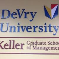 Photo taken at DeVry University, Keller Graduate School of Management by Ren P. on 1/28/2013