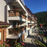 Photo taken at Hohe Rinne Păltiniș Hotel & Spa by Sorin I. on 8/27/2016