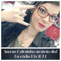 Photo taken at Rádio Mix FM Poa by Ana Maria D. on 8/11/2014