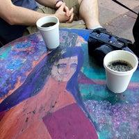 Photo taken at Ojai Coffee Roasting Co. by Peiwen K. on 4/5/2015