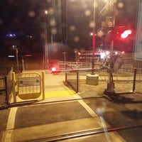 Photo taken at Broadway Caltrain Station by Ricky W. on 10/7/2015