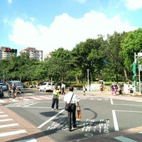 Photo taken at 公車五常街口站 by ETHAN C. on 6/23/2013