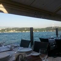 4/27/2013 tarihinde Cenk A.ziyaretçi tarafından Angel Blue Balık Restaurant'de çekilen fotoğraf