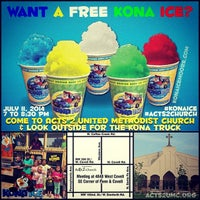 Photo taken at Acts 2 United Methodist Church by Kona Ice M. on 7/11/2014