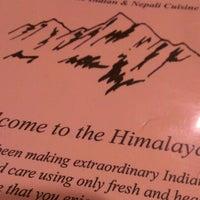 Photo taken at Himalayas II by John L. on 1/26/2013