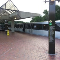 Photo taken at Greenbelt Metro Station by Bob C. on 6/9/2013