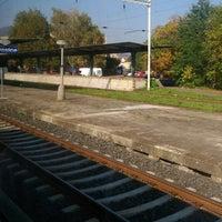 Photo taken at Železniční stanice Lovosice by Tereza on 9/29/2017