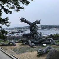 Photo taken at 구룡포 근대문화거리 by Hideki M. on 8/19/2017