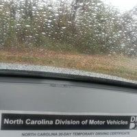 Photo taken at N.C. Department of Motor Vehicles by louis b. on 3/12/2014
