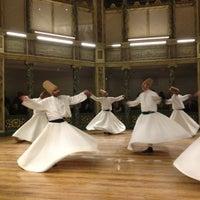 Photo taken at Galata Mawlavi House Museum by Zeynep K. on 12/9/2012