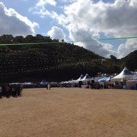 Photo taken at 금정구민운동장 by sanghoon P. on 10/18/2013