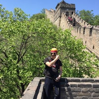 Photo taken at The Great Wall of China - Defense Tower by TC Murat G. on 5/17/2015