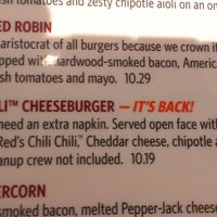 Photo taken at Red Robin Gourmet Burgers by Michael E. on 5/19/2013