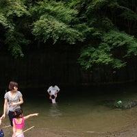 Photo taken at 猪野川 by masatoshi w. on 7/15/2013