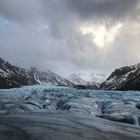 Photo taken at Svínafellsjökull by Emily W. on 2/24/2018