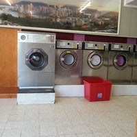 Photo taken at Kent Launderette by Samantha E. on 7/26/2013