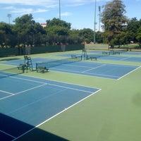 Photo taken at Taube Family Tennis Stadium by Jason Z. on 9/10/2015