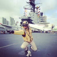 Foto scattata a USS Midway Museum da Rebecca D. il 7/19/2013