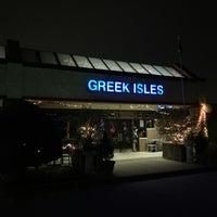 Photo taken at Greek Isles Grill & Taverna by J. F. on 11/1/2017