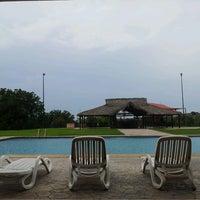 Photo taken at Club de Golf El Socorro by Elsie V. on 6/25/2014