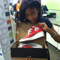 Photo taken at DSW Designer Shoe Warehouse by Deejah F. on 3/18/2013