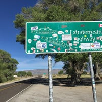Photo taken at Extraterrestrial Highway by Jan O. on 4/30/2015