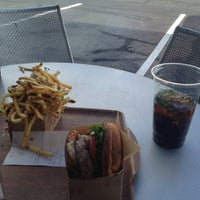 Photo taken at Larkburger by Anthony D. on 5/31/2013