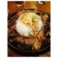 Photo taken at The Sizzlin' Pepper Steak by Tin R. on 8/6/2014