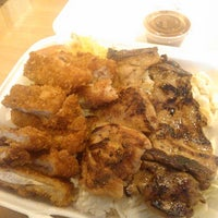 Photo taken at L & L Hawaiian Barbecue by Samantha T. on 9/25/2012