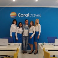 Photo taken at Coral Travel by Александр К. on 7/2/2014