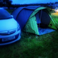 Photo taken at Dadford Road Campsite by Simon C. on 6/27/2013