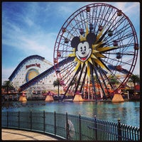 Photo taken at Disney California Adventure Park by J. Sperling R. on 4/1/2013