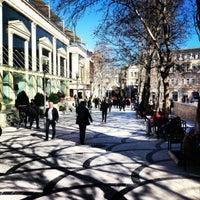 Снимок сделан в Площадь Фонтанов пользователем Etibar S. 3/2/2013
