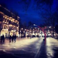 Снимок сделан в Площадь Фонтанов пользователем Etibar S. 1/13/2013
