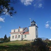 Photo taken at Fort Point Light by Nkj F. on 8/23/2013