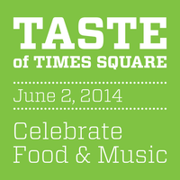 Photo taken at Taste of Times Square by Taste of Times Square on 6/2/2014