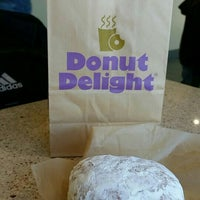Photo taken at Donut Delight by Dan T. on 10/4/2015