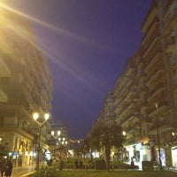 Photo taken at Navarinou Square by Βασίλης Φ. on 1/20/2013