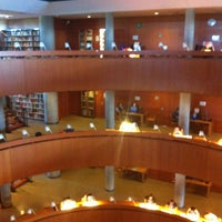 Photo taken at Biblioteca Central de la UNED by LaNurs I. on 9/4/2013