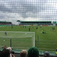 Photo taken at FRIMO Stadion by Jonas J. on 8/21/2016