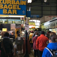 Photo taken at St. Urbain Bagel by Tom M. on 3/26/2016